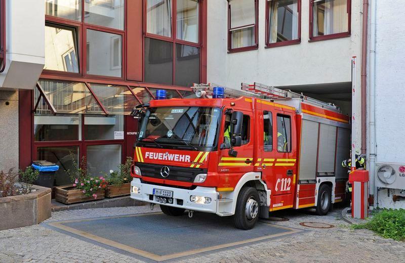 Feuerwehrzufahrten